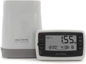 acurite display and bucket